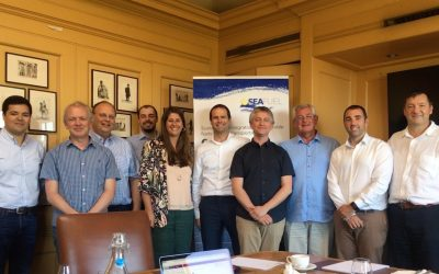 SEAFUEL partners meeting hosted by Logan Energy Hydrogen Technologies in Edinburgh