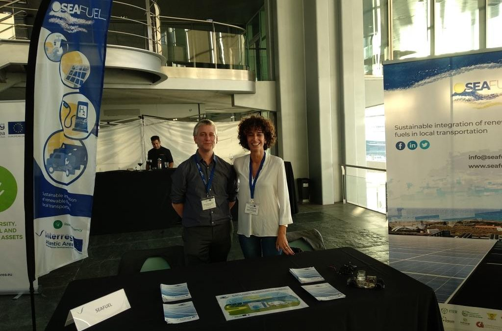 SEAFUEL has participated in the Interreg Atlantic Area Annual Event in Vigo, Spain