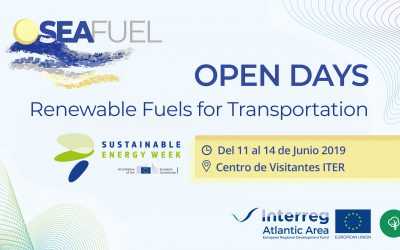 "SEAFUEL project organises its I SEAFUEL Open Days ""Renewable Fuels for Transportation"" event on June 11-14 as part of the EUSEW Energy Days"