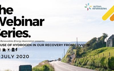 "SEAFUEL partner Action Renewables presents the webinar ""The use of hydrogen in our recovery from COVID19."""